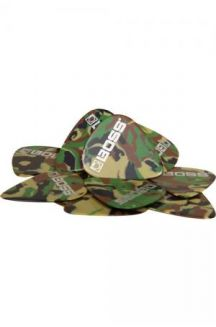 BOSS PACK 12 PLETTRI CELLULOIDE THIN CAMO
