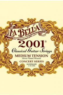 LA BELLA 2001 CORDIERA PER CHITARRA CLASSICA MEDIUM TENSION