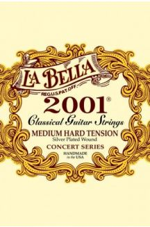 LA BELLA 2001 CORDIERA PER CHITARRA CLASSICA MEDIUM HARD TENSION