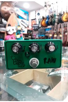 DR. CABLE RAW VERDE PEDALE FUZZ PER CHITARRA/BASSO