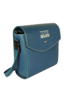 DV MARK DV MICRO 50 LEATHER BAG BLUE