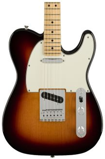 FENDER PLAYER TELECASTER 3 COLOR SUNBURST MN