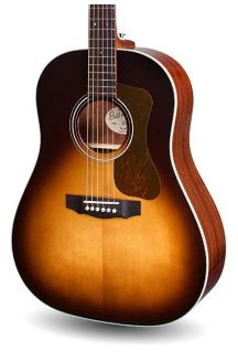 GUILD DS-240 MEMOIR SLOPE SHOULDER D TEAR DROP BURST