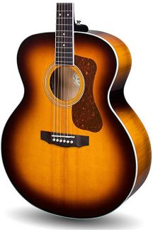 GUILD F-250E DELUXE MAPLE ATB ANTIQUE BURST