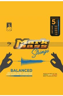 MARKBASS BALANCED ELECTRIC BASS NICKEL PLATED STEEL ON STAINLESS STEEL STUDIO TUNED STRINGS  040 060 080 100 120