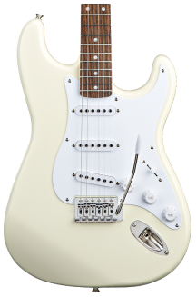 SQUIER BULLET STRATOCASTER ARCTIC WHITE