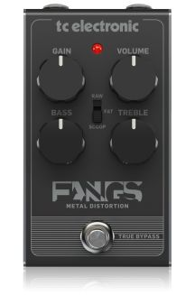 TC ELECTRONIC FANGS DISTORTION